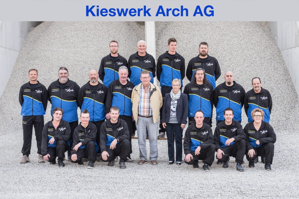 Sponsor Kieswerk Arch