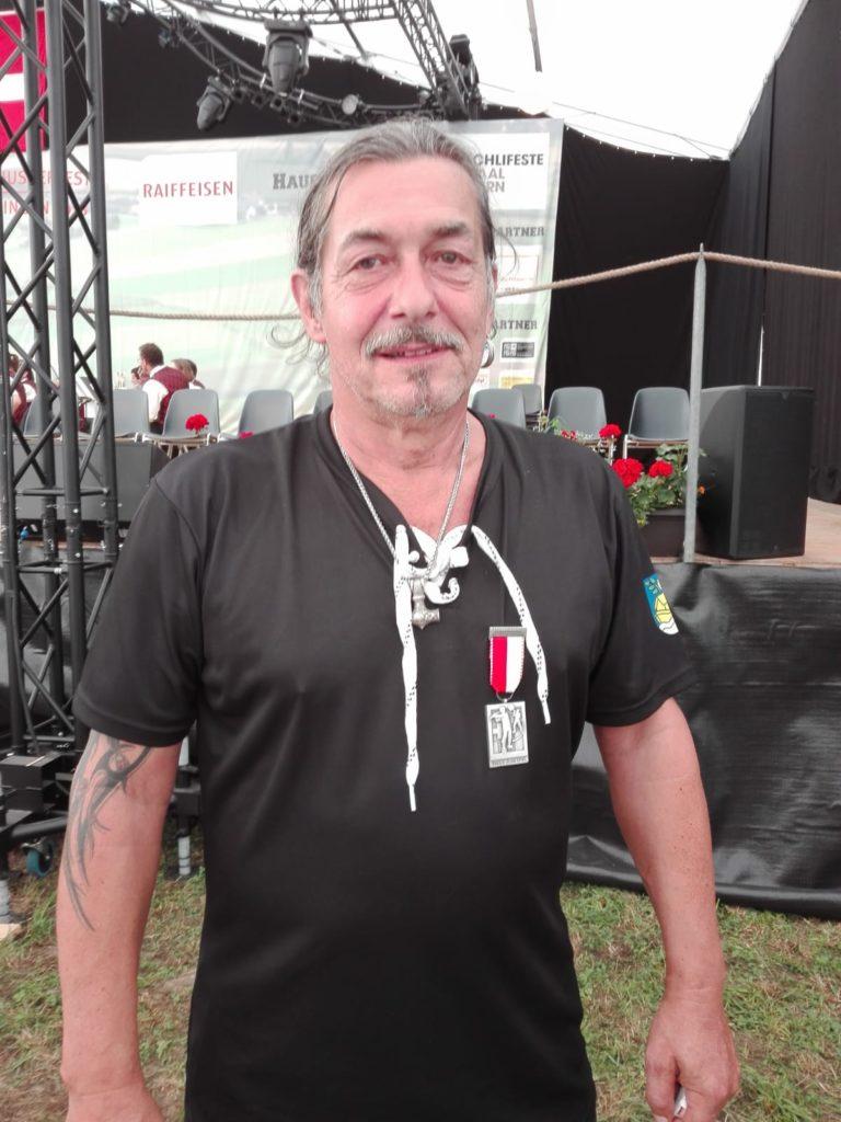 Eidgenössischer Veteran Mario Castor