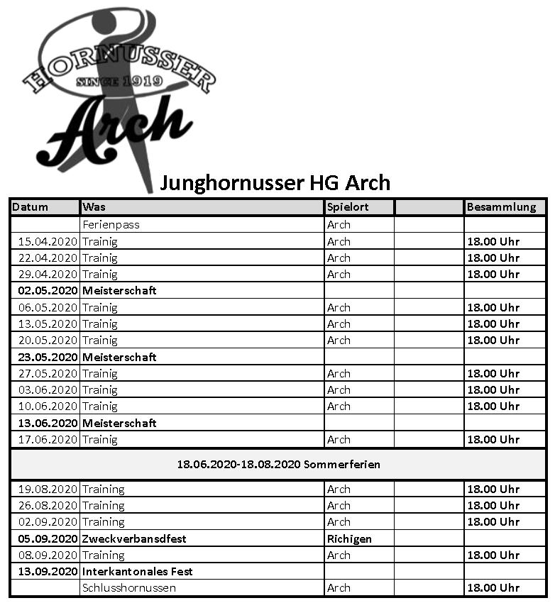 Programm 2020 Junghornusser